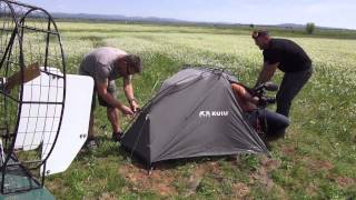 KUIU Mountain Star Tent Durability Test: Airboat