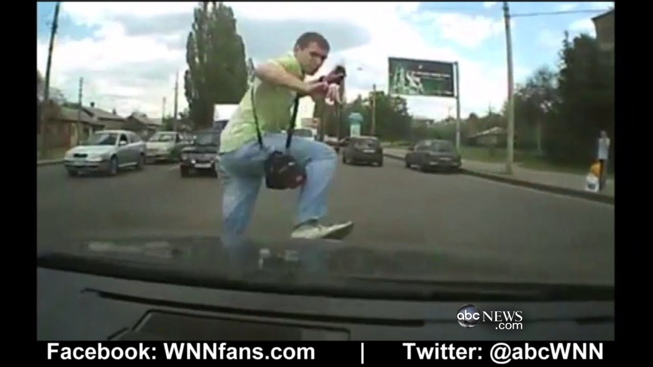 Nearly Getting Hit By Car
