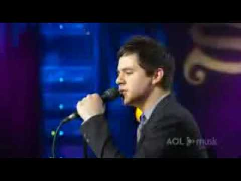 David Archuleta AOL Session - A Little Too Not Over You