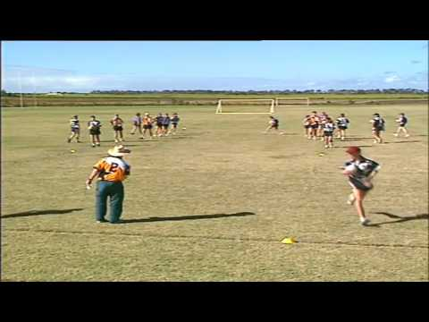 Touch Football Training Part 1
