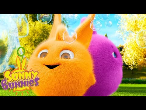 SUNNY BUNNIES | BURBUJAS QUE SOPLAN | Dibujos animados para niños | WildBrain