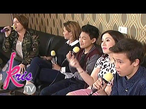 """Karaoke showdown of """"All at Once"""" with Karla, K, Darren & JK"""