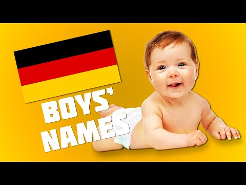 Top 20 Most Popular German Names For Boys | Get Germanized