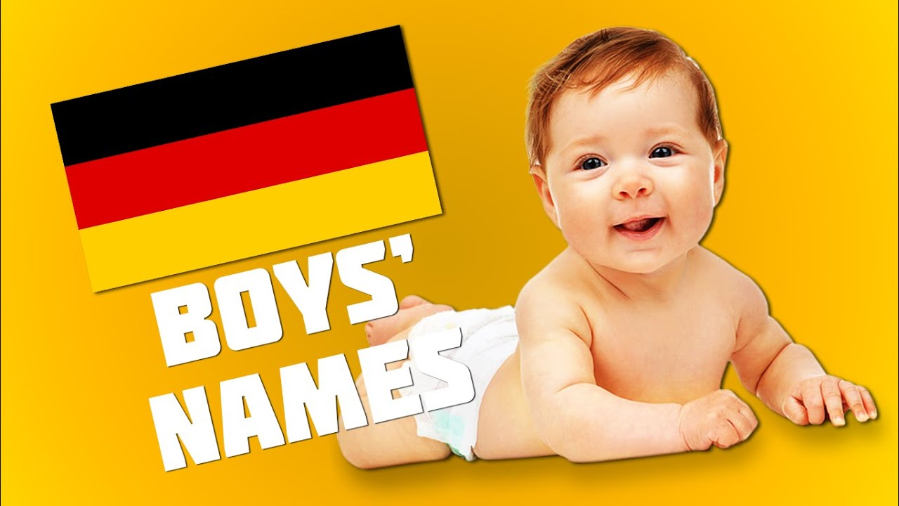 Top 20 Most Popular German Names For Boys