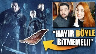 GAME OF THRONES 8.Sezon Fragman Tepkisi: WINTERFELL MEZARLARI