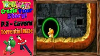 Yoshi ' s Story Erstellen Sie Ihre Geschichte - S. 2 - Höhle (Sintflutartige Labyrinth)