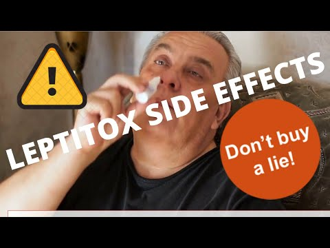 Leptitox Reviews 2020⚠️ [Don't Buy] Side Effects �� And Ingredients �� Leptin Pills Scam? ��