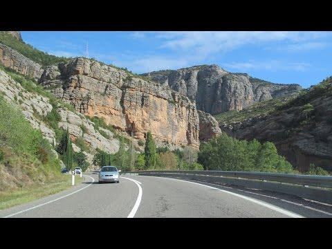 Spain: N-260 through Collegats Canyon