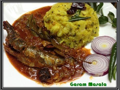 Kappayum Mathi curriyum / Sardine Curry with Tapioca by Garam Masala