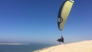 Siblu survole la Dune du Pilat