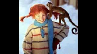Pippi Longstocking Theme Song in Swedish