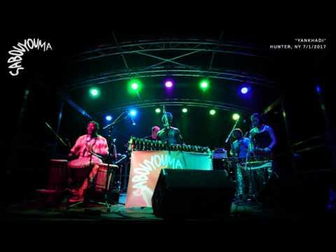 Sabouyouma Afro-Funk in the Catskills, Hunter, NY - July 1, 2017