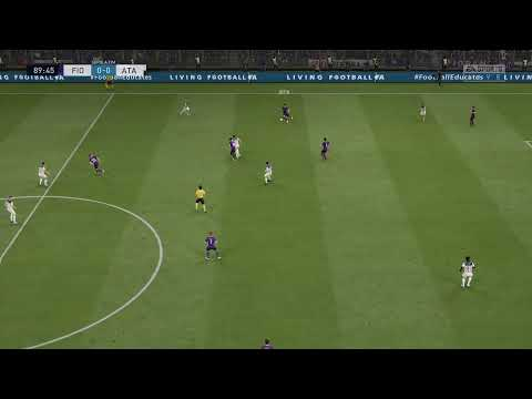 FIFA 20   Fiorentina Vs. Atalanta   Italian Serie A 19-20 ...