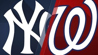 Soto's 2-run homer propels Nats to a 5-3 win: 6/18/18