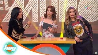 ¡Inés y Galilea apuestan el aguinaldo! | El muro | Hoy