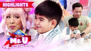 Vice finds out the reason why Yorme was not in the mood the previous day | It's Showtime Mini Miss U
