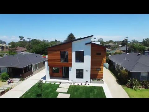 Drone Fly Over of Architectural Redeveloped Gem