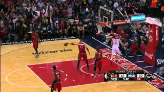 Toronto Raptors vs Washington Wizards - Full Highlights - Game 4 - April 26, 2015 - Playoffs