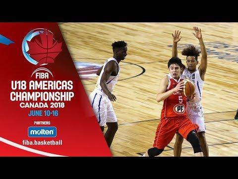 Dominican Republic v Chile - Class. 5-6 - Re-Live (ENG) - FIBA U18 Americas Championship 2018