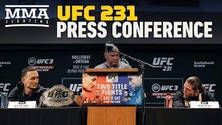 UFC 231 Pre-Fight Press Conference - MMA Fighting
