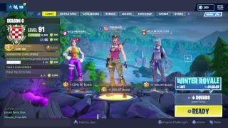 Fortnite Playing Squads ! Stream
