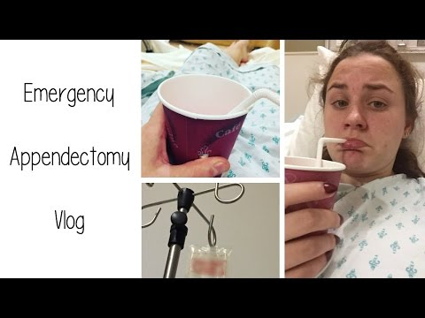EMERGENCY APPENDECTOMY POST OP EXPERIENCE VLOG | Allie Young