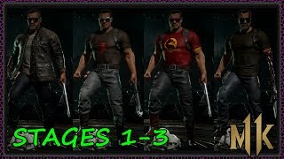 THE TERMINATOR Character Tower PART 1!! MK11 Gear Skins Showcase!! Mortal Kombat 11