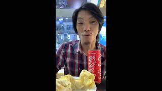 Sdach Game សុីធូរ៉េនផឹកកូកា Sdach Game eat Durian with Coca wow (Funny with Sdach Game)