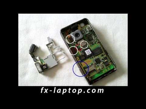 Disassembly LG Viewty KU990 - Battery Glass Screen Replacement