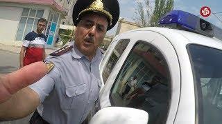 """""""102"""" xidmətindən çəkinən polis kameranı qaytardı - CORATDA ETİRAZ"""