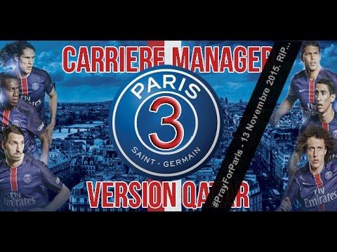 FIFA 16 | Carrière Manager : PSG Version Qatar #3 - #PrayForParis
