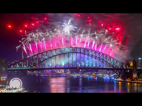 Australia and New Zealand welcome 2018 with huge firework di