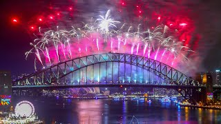 Australia and New Zealand welcome 2018 with huge firework displays