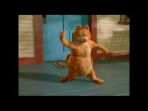 Garfield bailando wachiturro