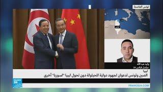 وفد صيني رسمي في تونس