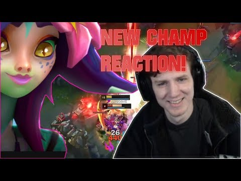 Hashinshin FINALLY gets a GOOD JUNGLER! + New Champ Reaction! - Streamhighlights