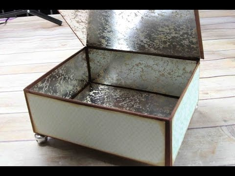 Large Keepsake Box Construction