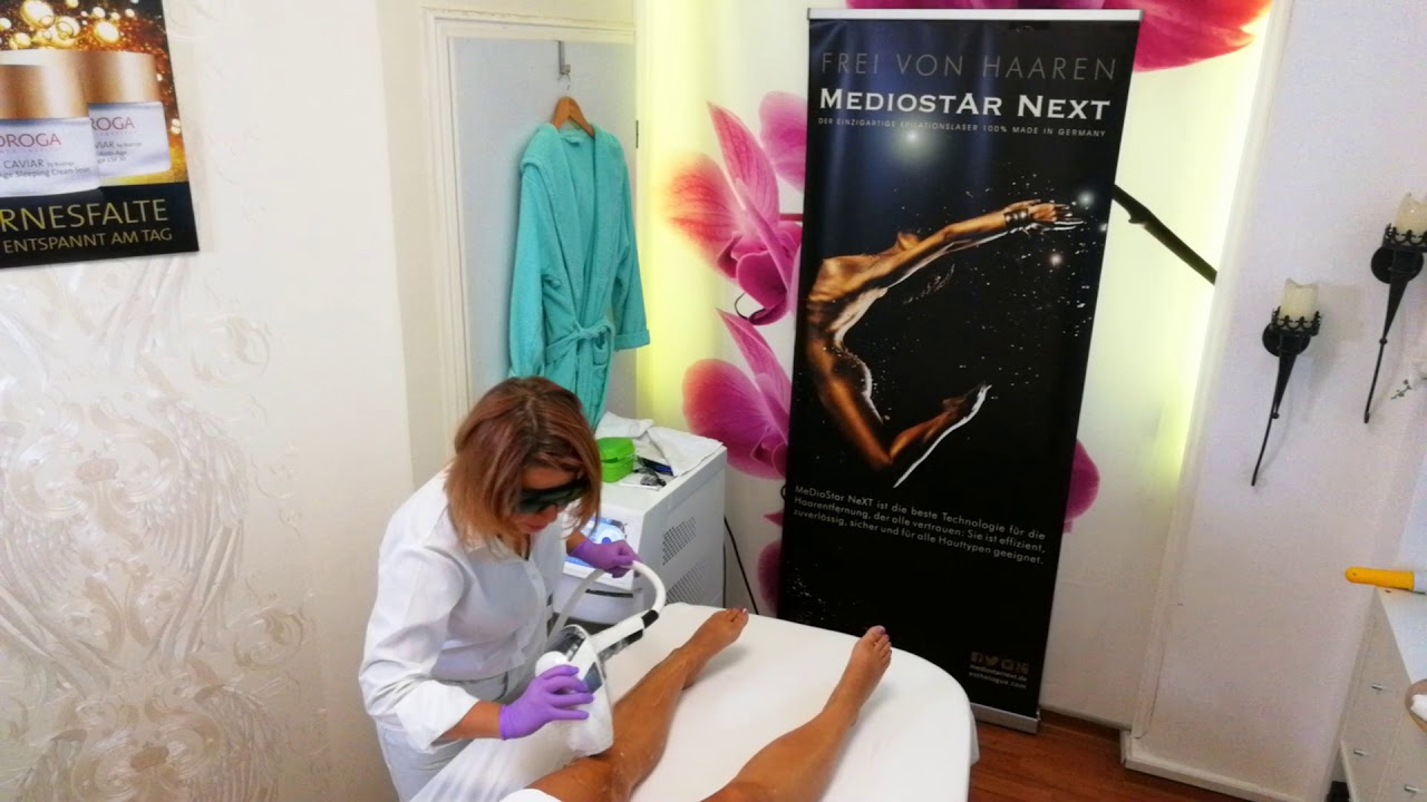 Haarentfernung mit Laser in Münchens erstem Mediostar