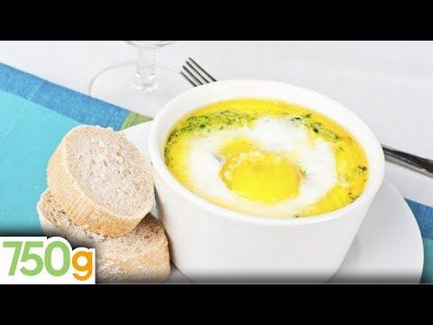 recette-des-oeufs-cocotte-aux-épinards---750g