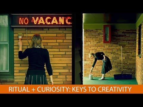 Ritual + Curiosity Keys to Creativity