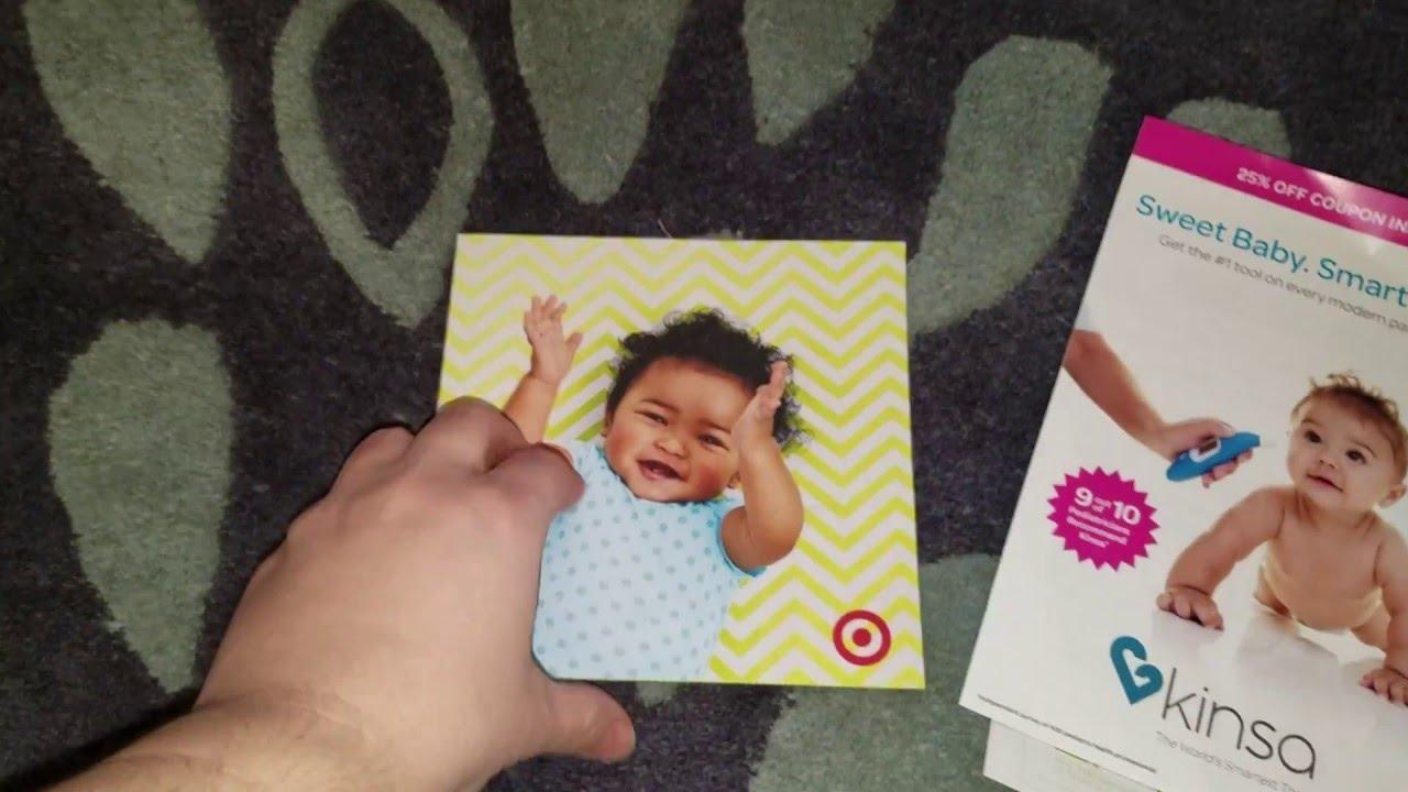 Target Baby Registry freebies - YouTube