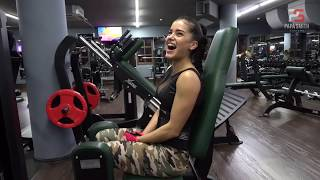 Чемпионка Мира по Фитнес Бикини Мария Бархударова. Попа Кач!