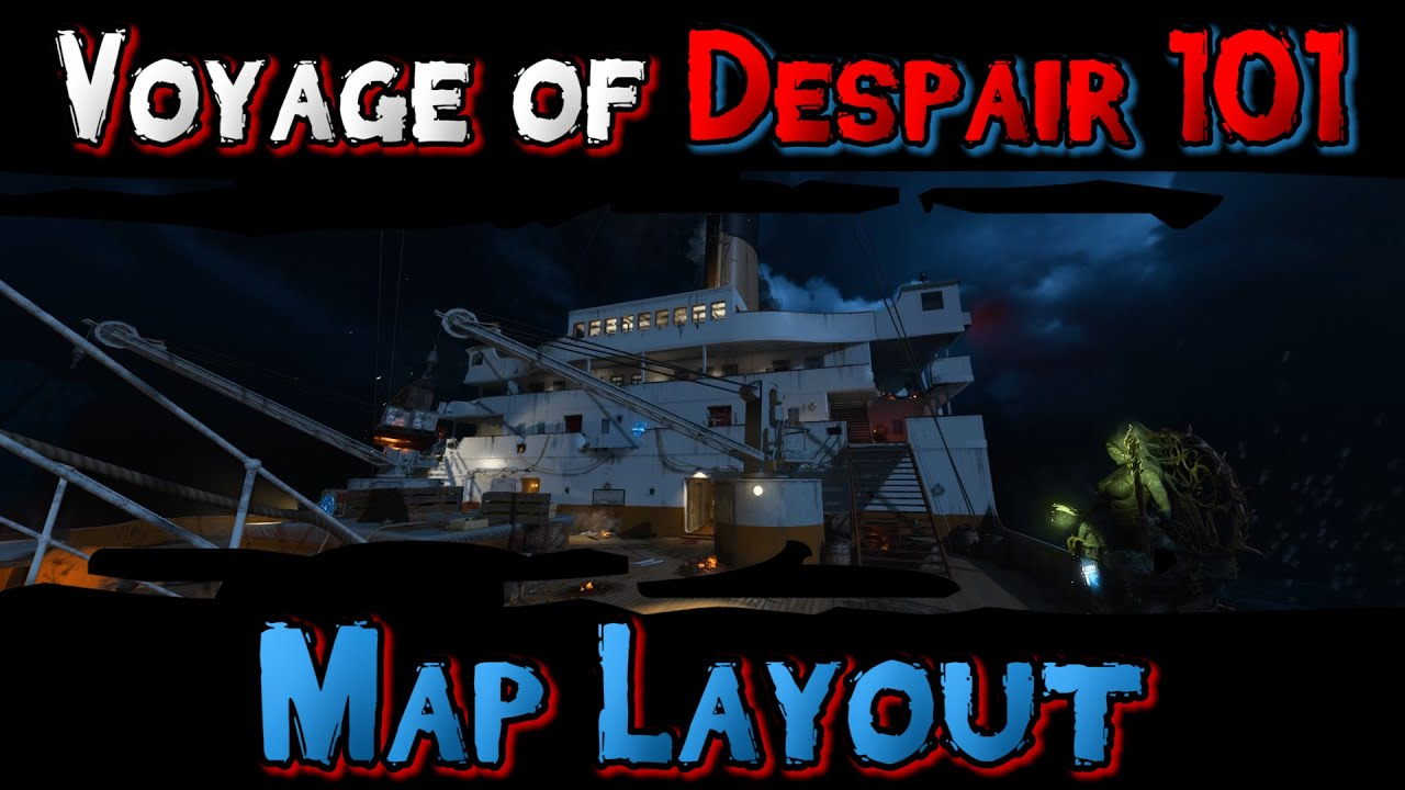 voyage of despair map