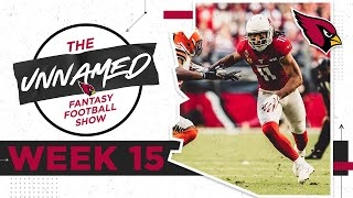 Tough Lineup Decisions for Championship Week | Arizona Cardinals Fantasy Football