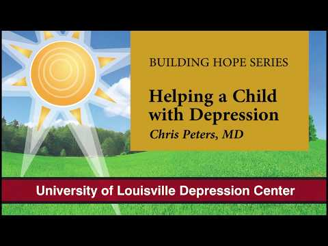 Chris Peters, MD, Helping Children with Depression