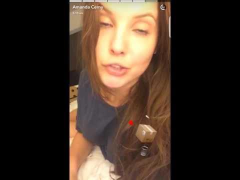 Amanda cerny snapchat