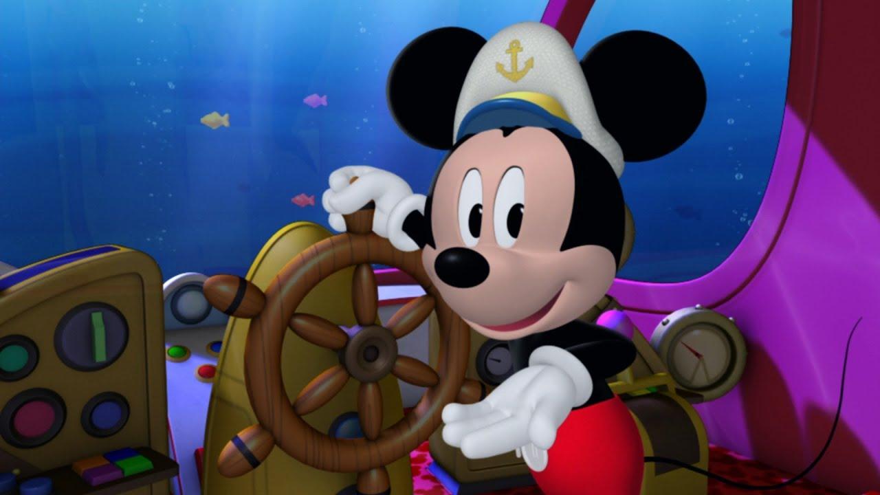 Disney Pete Aye, Aye Captain Micke...