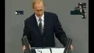 Putin spricht Deutsch / Putin speaks German 2/3