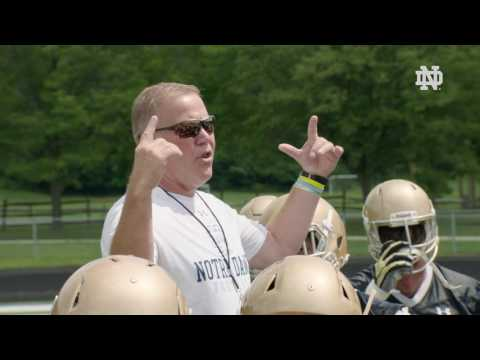 Notre Dame Football Reflects on Ara Parseghian at Fall Camp