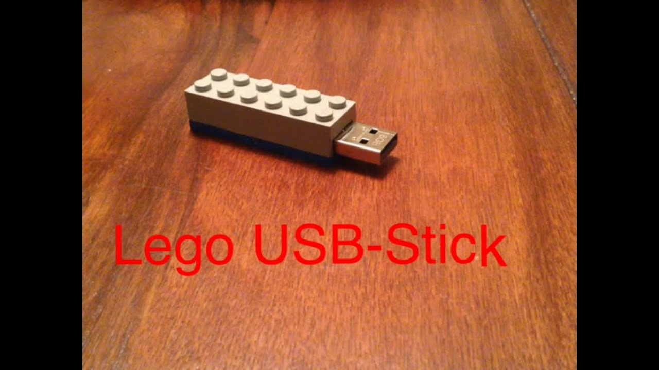 lego usb stick selber bauen de youtube. Black Bedroom Furniture Sets. Home Design Ideas